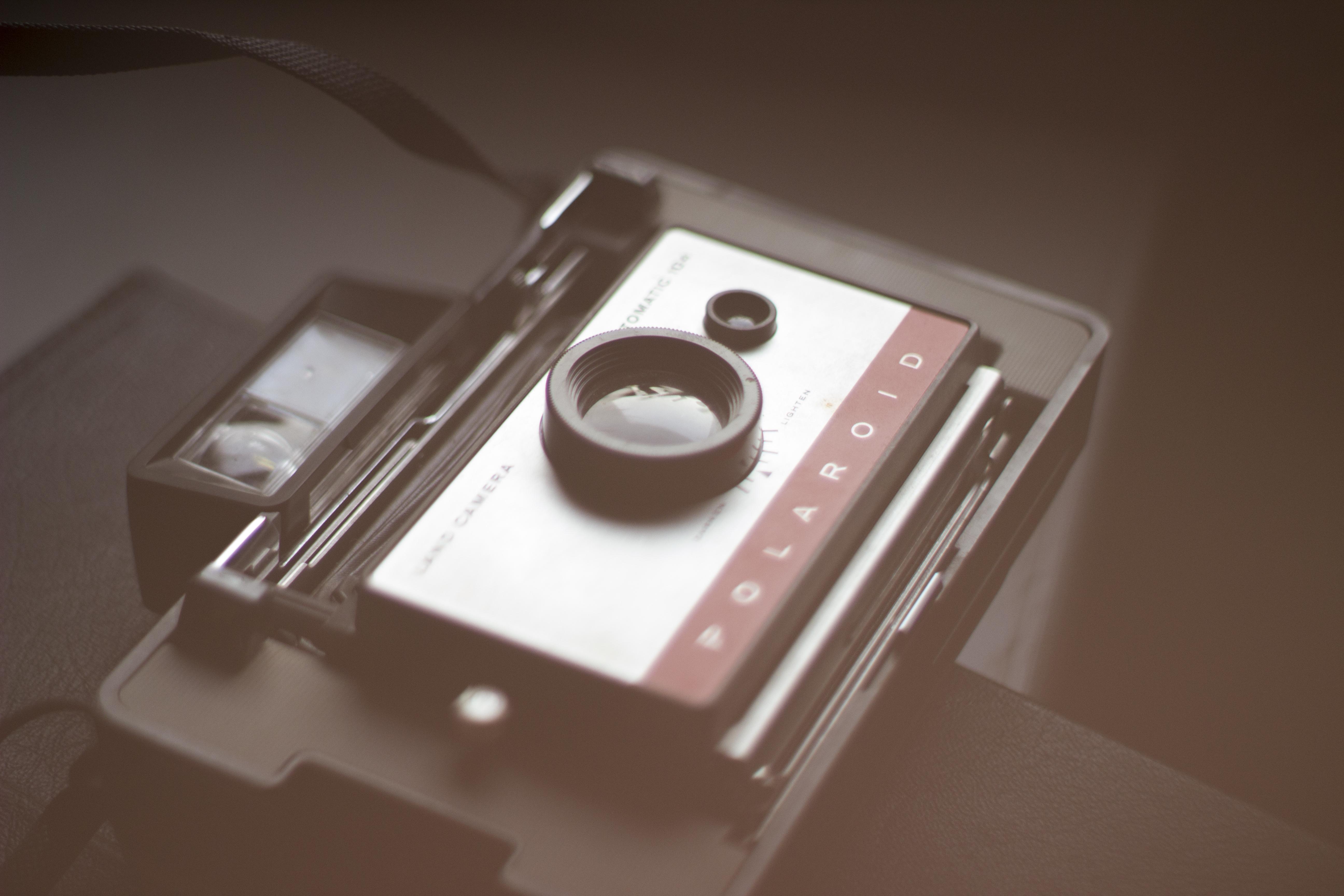 Bild einer Polaroidkamera